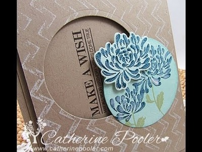 Embossing Folder Stamping with Papertrey Ink