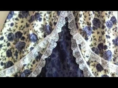 How to Fake a Tiered Lolita Skirt (Tutorial - Part 2)