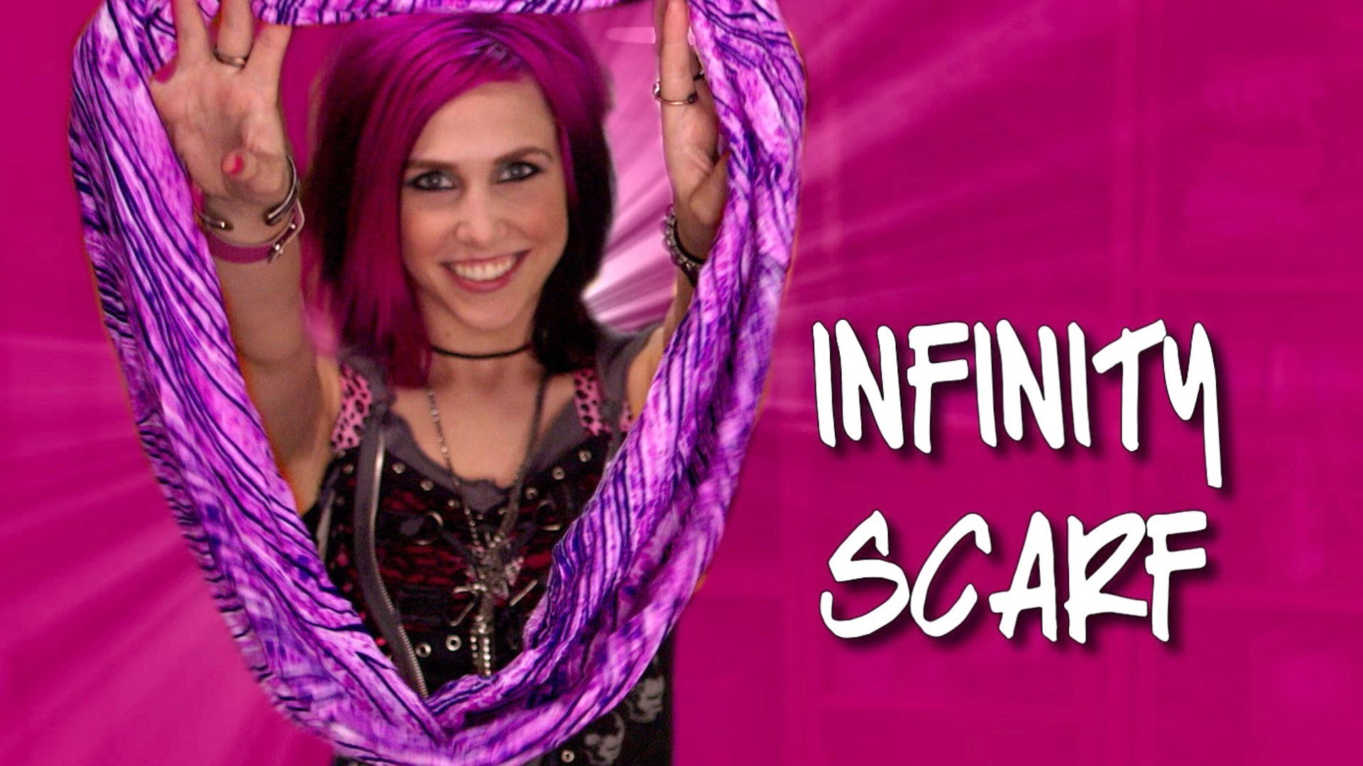 How to Make an Infinity Scarf- DIY Network