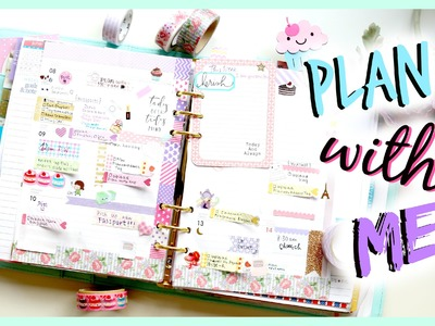 PLAN WITH ME! ♡ KIKKI K LARGE TIME PLANNER | Bethni