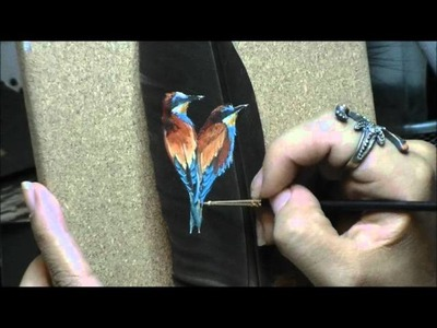 Speed Feather Painting: Birds