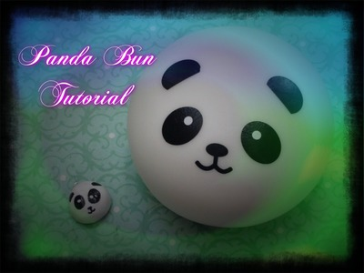 Squishy inspired Panda Bun Tutorial