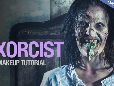 The Exorcist sfx makeup tutorial