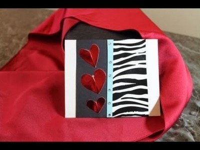 Valentines Day or Mothers Day Card: DIY Handmade Card