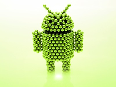 Android Mascot (tutorial) - Zen Magnets logo contest winner July 2013
