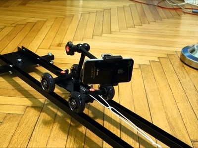 Cheap  DIY  Trolley Dolly (Camera Slider) Under 30 Euros