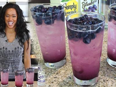 Blueberry Lemonade - Tipsy Bartender