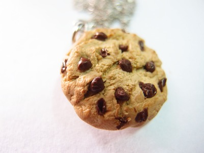 Chocolate Chip Cookie Polymer Clay Tutorial