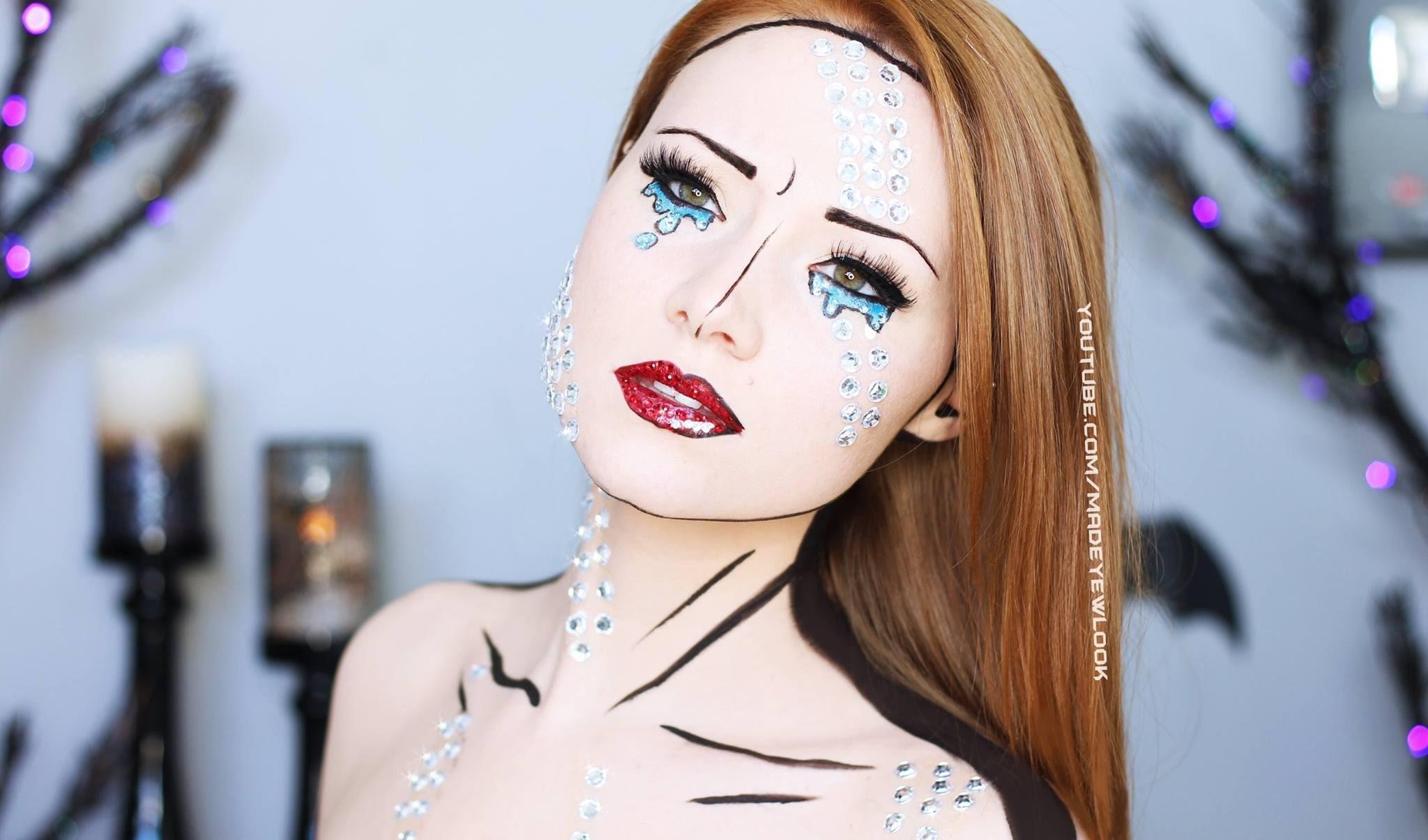 Comic Book Makeup Tutorial (4 Different Ways)