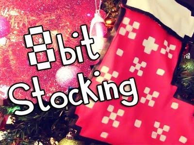 DIY :  8 bit Christmas Stocking