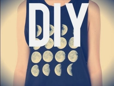 DIY Brandy Melville Moon Phase Tank ☾