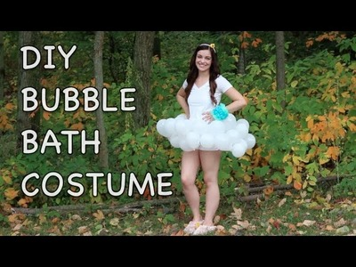 DIY Bubble Bath Costume | Makeup By Kimm