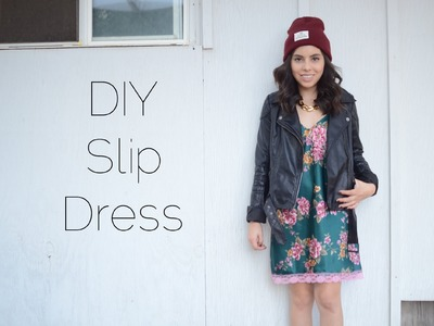 DIY Reconstructed Slip Dress
