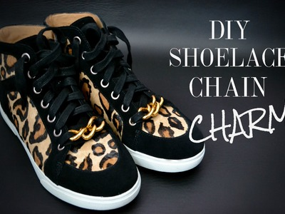 DIY Shoelace Chain Charm (Super Easy)