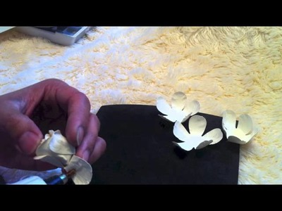 Flower Tutorial using EK Success Punch