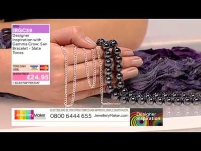 How to make a Sari Bracelet - JewelleryMaker DI 23.1.14