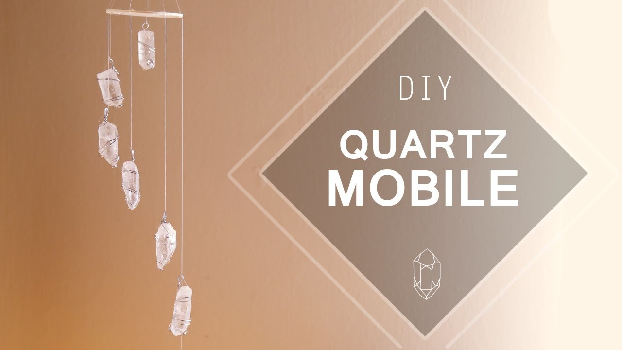 Quartz Crystal Mobile ♥ DIY