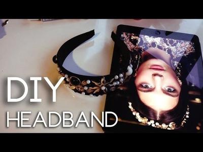 DIY Headband - Dolce&Gabbana Inspiration