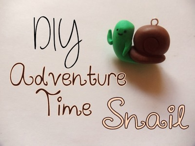 Adventure Time Snail Tutorial [Polymer Clay ^_^]