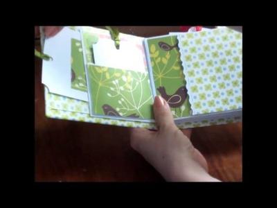 Baby mini scrapbook albums
