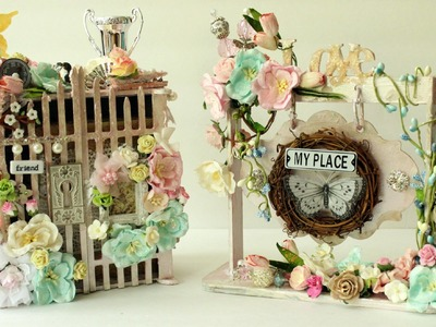 Beautiful Shabby Chic Projects | Chic | Soft | Feminine | Handmade