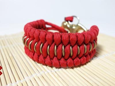 Chain Mail Trilobite Paracord Bracelet Tutorial
