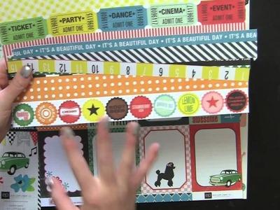 CTO: Happy Days Scrapbooking Kit