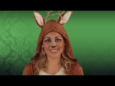 Deer Costume Makeup Tutorial
