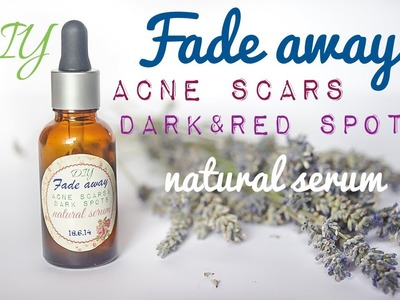 DIY Acne Scar Removal Serum & Rosacea Natural Treatment with Rosehip  & Black Seed Oil