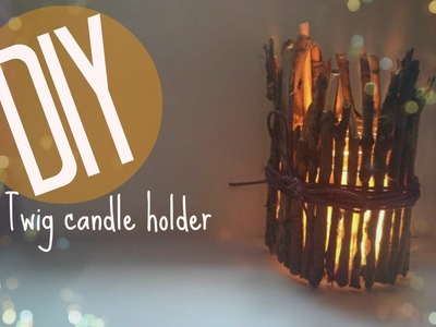 DIY | Autumn Candle Holder | CuteNailPolishArt