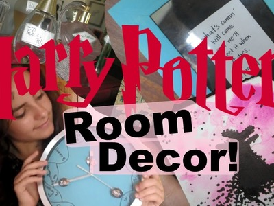 DIY: Harry Potter Room Decor! | Laura'since99