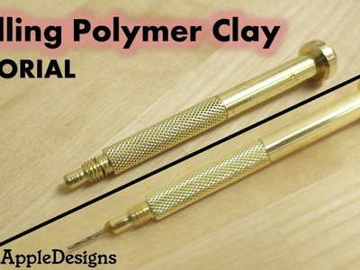 Drilling Polymer Clay? TUTORIAL