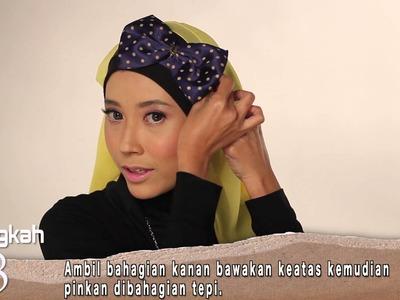Hijabista DIY: Tudung Bintik Polka