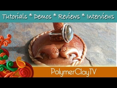 How to change molds with polymer clay to make your own objects