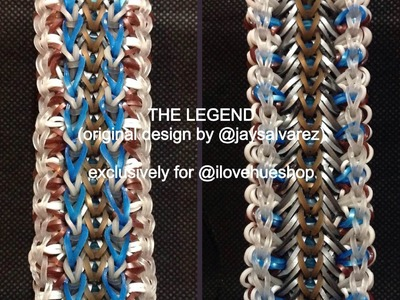 LEGEND loom tutorial by @jaysalvarez for ILOVEHUESHOP