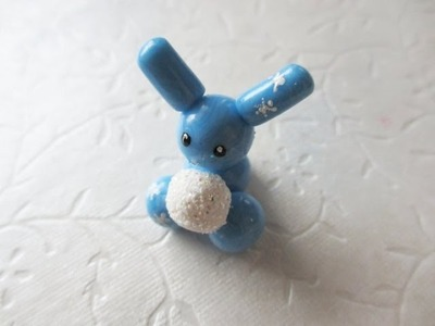 Polymer Clay Winter Bunny - Tutorial by Gentlemanbunny and Mandarin Ducky