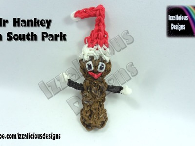 Rainbow Loom Mr Hankey from South Park © Izzalicious Designs 2014
