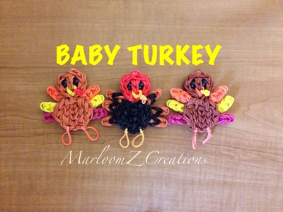Rainbow Loom Thanksgiving Turkey