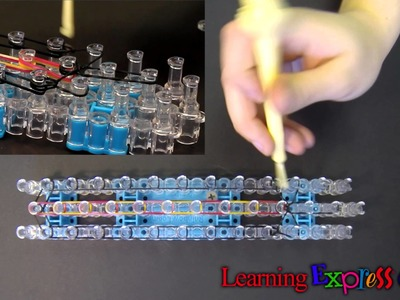 Rainbow Loom: Zipper Bracelet Tutorial