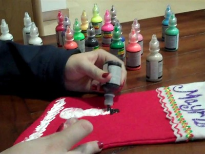 Saint Mary's College: Making Christmas Stockings