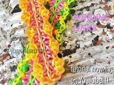 WINDING LINKS loom tutorial by @jaysalvarez for ILOVEHUESHOP