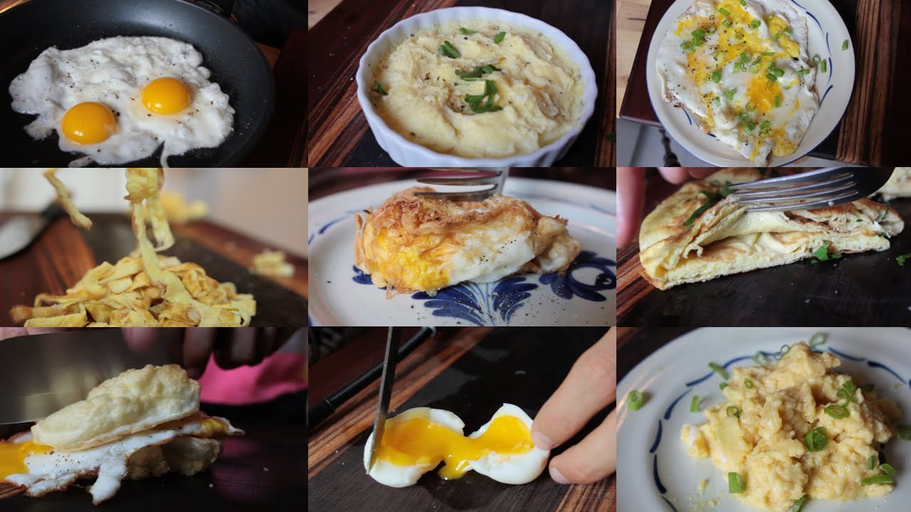10 Creative Recipes Using Just An Egg