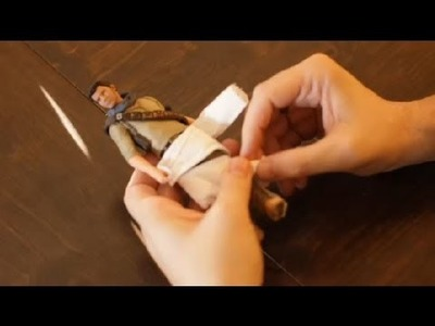 A Mummy Craft With Toilet Paper : Arts & Crafts