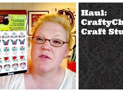 Dollar Store Crafts: CraftyChica Craft Supply Haul