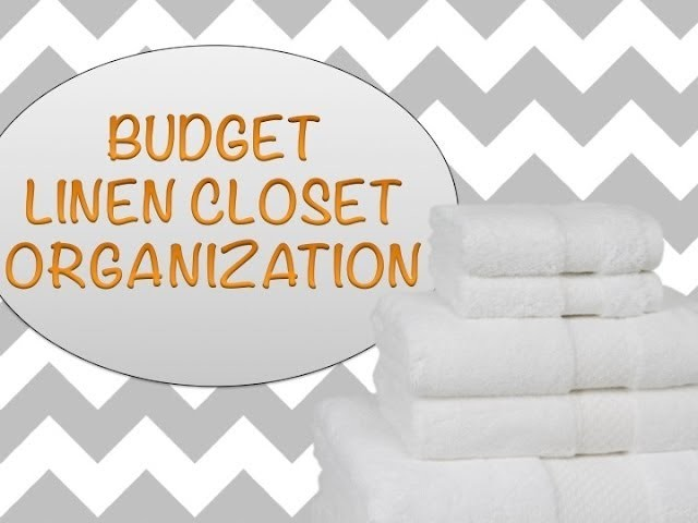 DOLLAR TREE LINEN CLOSET ORGANIZATION!