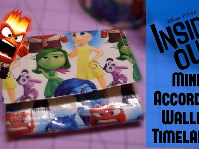 Inside Out Duct Tape  Wallet Timelapse !