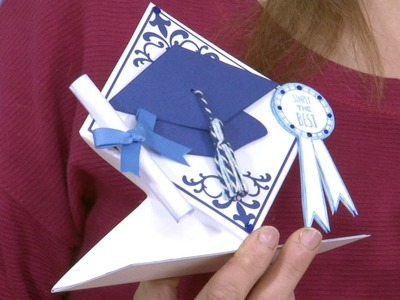 Make a 3D Graduation Card | In The Studio