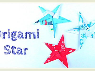 Origami Star - How to Fold a Five-Pointed Origami Star - Star Paper Crafts
