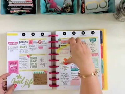 The Happy Planner Review and Flip