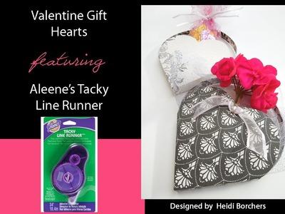 Aleene's Valentine Gift Hearts by EcoHeidi Borchers
